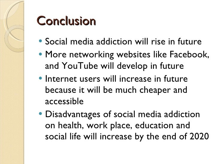 Social networking addiction thesis statement