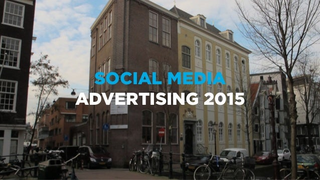 SOCIAL MEDIA ADVERTISING 2015
