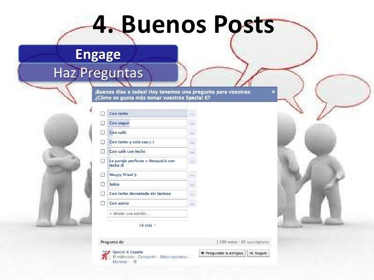 4. Buenos PostsDinámicas regulares