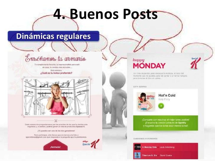 4. Buenos PostsAprovecha tu Offline