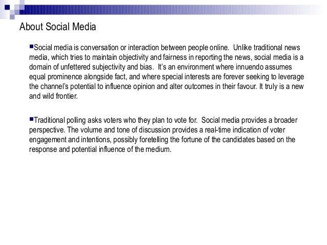 Social media analysis for toronto 2010 mayoral election Slide 3