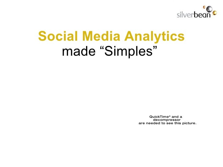 """Social Media   Analytics made   """"Simples"""""""