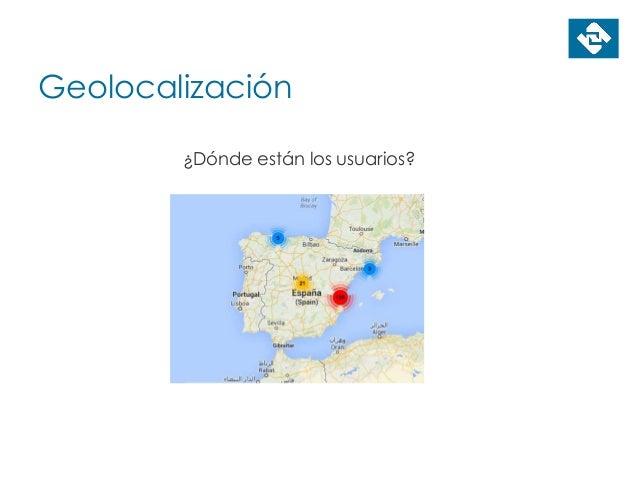 Geolocalización ¿Dónde están los usuarios?