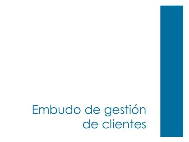 Embudo de gestión de clientes