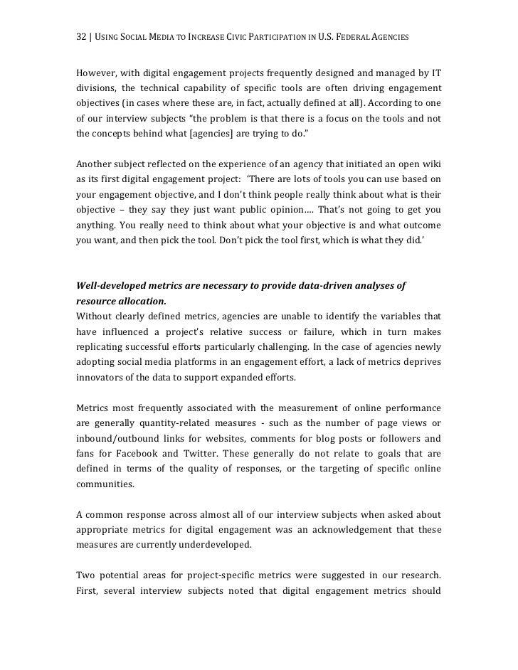 Civic engagement essay
