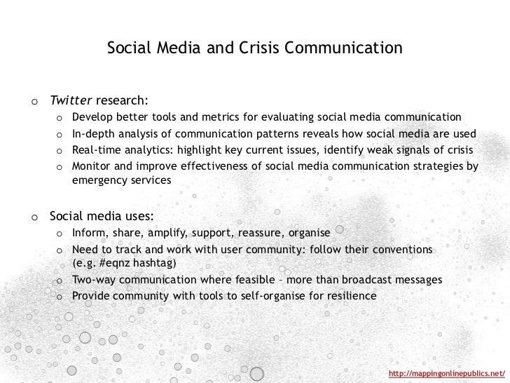 social media and disasters current uses Researchers have now started publishing data on the use of social media in disasters, and lawmakers and security experts have begun to assess how emergency management can best adapt.