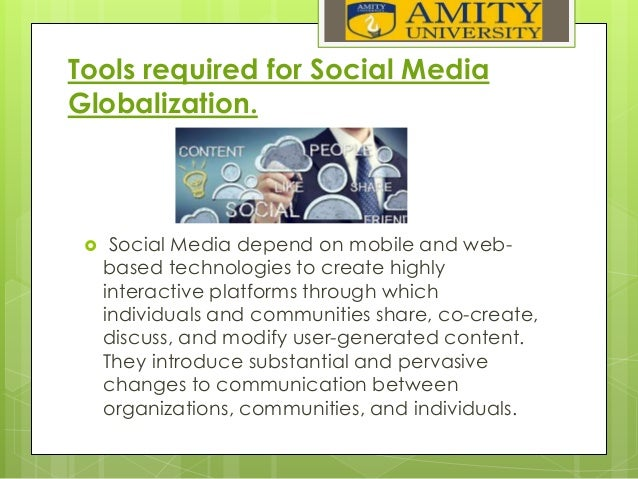 media globalization Globalisation and its impacts have constituted one of the latest buzz words of today it could be seen on the streets in any part of.