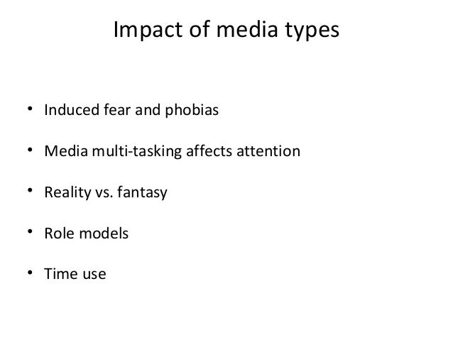 Media violence and its effects on society