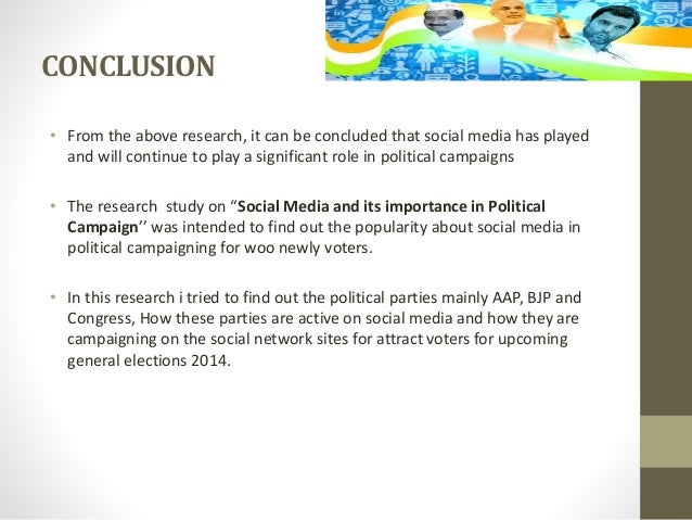 social media impact on political campaigns While clinton's staff apparently sent this tweet, it's yet more evidence of how central social media has become to political campaigns but because social media is so despite its growing popularity, social media's influence on political participation remains unclear some research finds that any effects of.