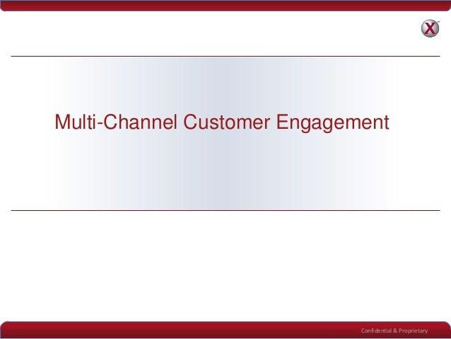 Confidential & ProprietaryMulti-Channel Customer Engagement