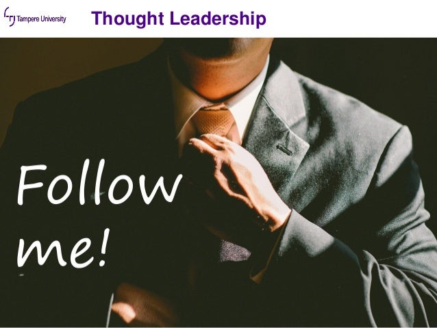Thought Leadership 11.11.2019 23