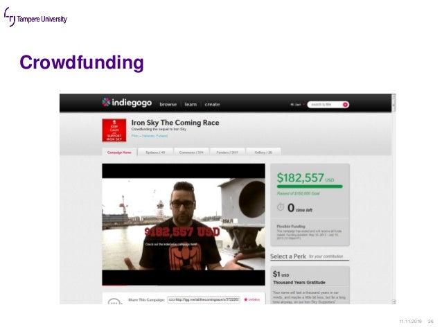 Crowdfunding 11.11.2019 36