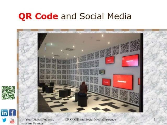Social media and QR Code promo - Do not feel shy