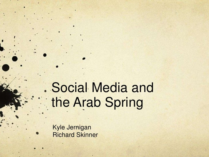 the impact of social media during the arab spring After analyzing more than three million tweets, gigabytes of youtube content and thousands of blog posts, a new study has concluded that the arab spring truly was fueled by social media our evidence suggests that social media carried a cascade of messages about freedom and democracy across north.