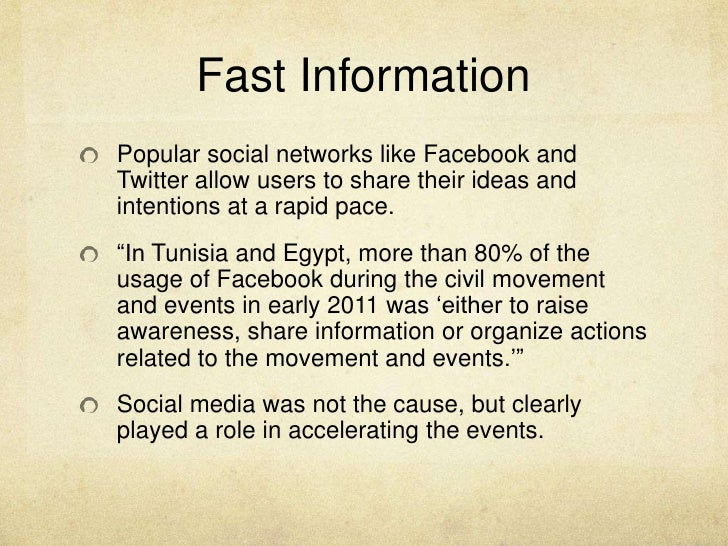 social media and the arab spring Social media and the arab spring • did social media act as a vital catalyst for protest activism • or has the impact been exaggerated.