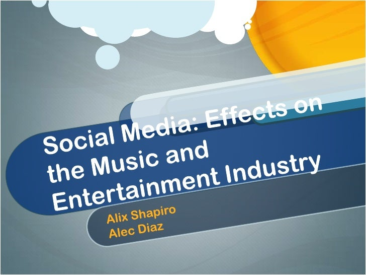 Social media and the entertainment industry
