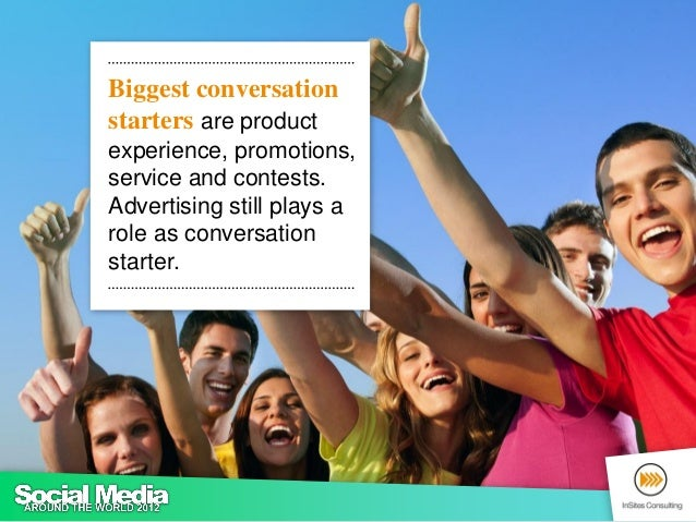 Networks to share informationQ: When sharing information about products, brands and/or companies, which social network sit...