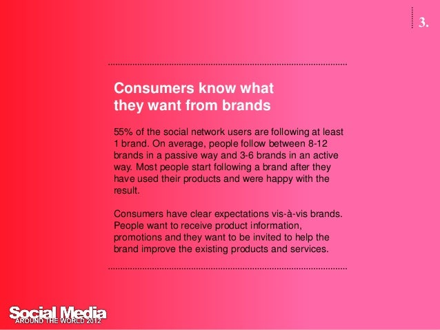 3.Consumers wantto help brandsAbout 8 out of 10 consumers want to help brands. People arewilling to send mails with feedba...
