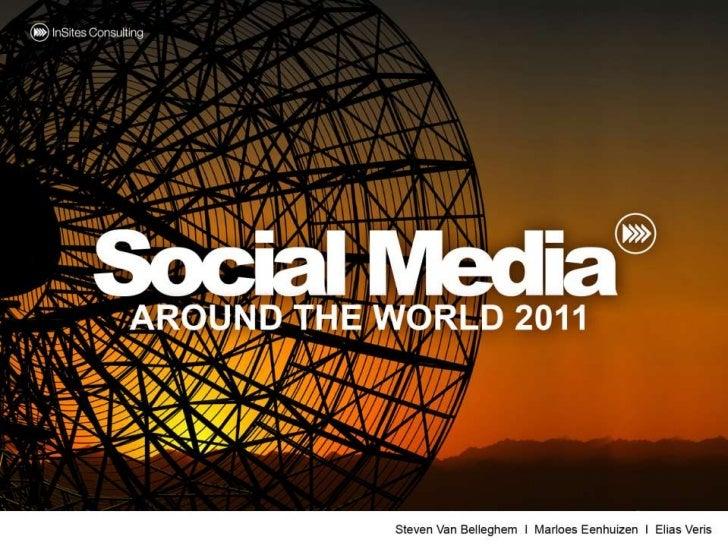 Social Media around the World 2011 Slide 1