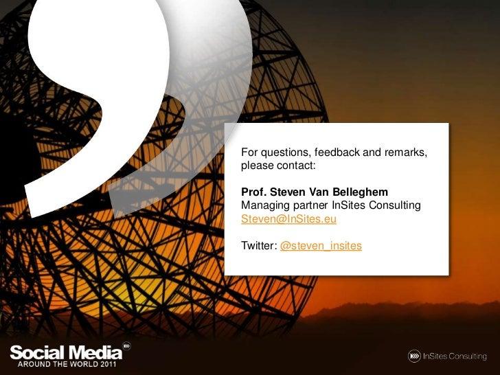 Social Media around the World 2011 Slide 3