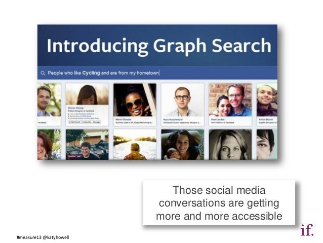 Those social media                         conversations are getting                         more and more accessible#meas...