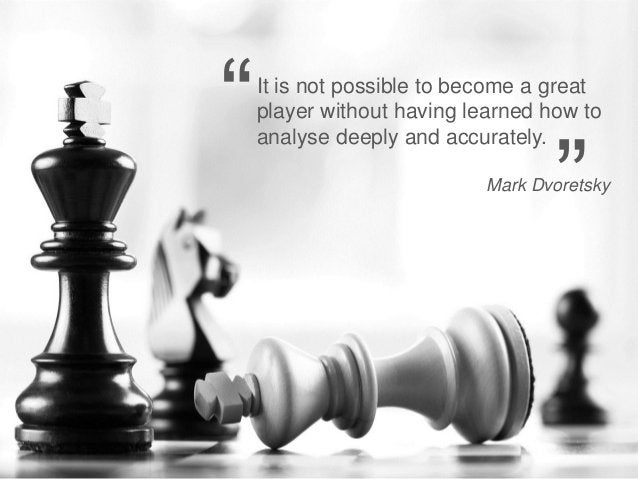 """""""   It is not possible to become a great                             player without having learned how to                 ..."""