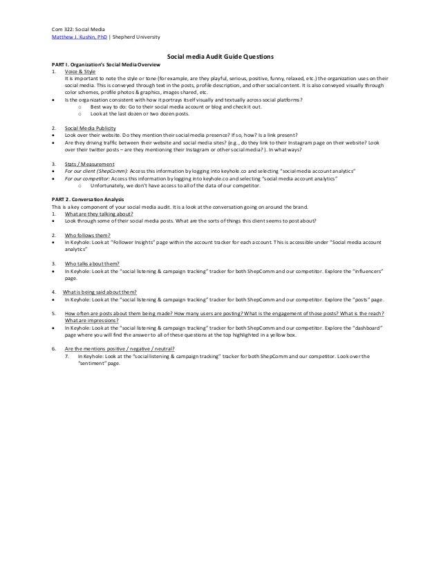 Social Media Audit Assignment Keyhole Social Media Analytics Slide 3
