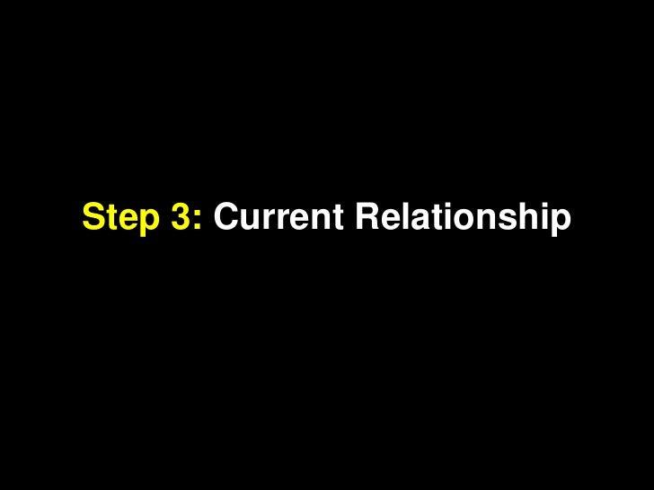 Step 3: Current Relationship<br />