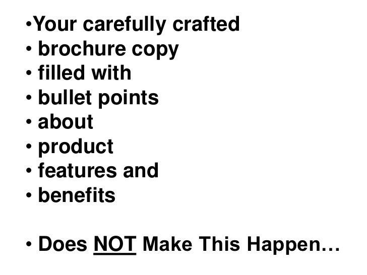 <ul><li>Your carefully crafted