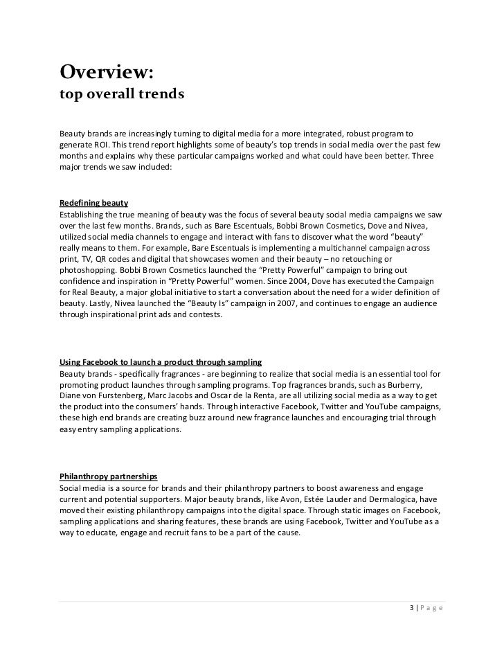 Overview:top overall trendsBeauty brands are increasingly turning to digital media for a more integrated, robust program t...