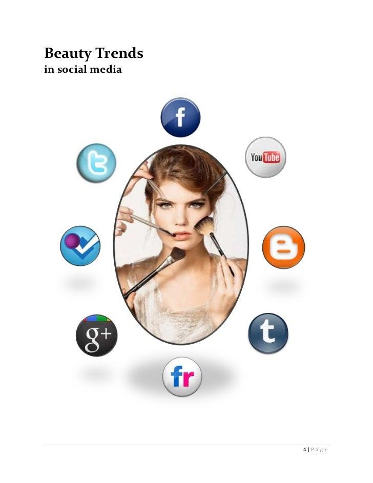 Beauty Trendsin social media                  4 P a g e