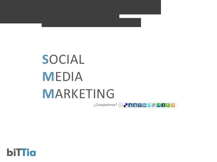 SOCIAL MEDIA MARKETING       ¿Compartimos?