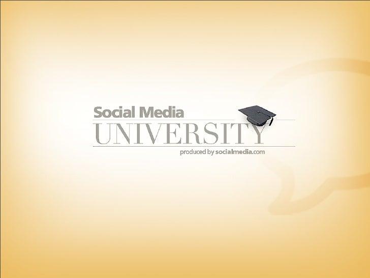 Agenda •   Keynote on Social Media - Seth Goldstein  •   Chat - Curt Hecht, Dick Costolo  •   *Break*  •   Social Media Pr...