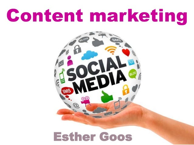 Content marketing    Esther Goos