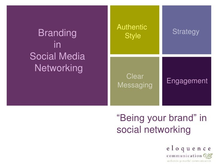Authentic <br />Style<br />Branding <br />in <br />Social Media <br />Networking<br />Strategy<br />Clear<br />Messaging<b...