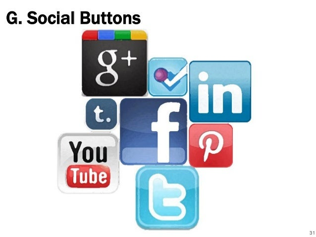 G. Social Buttons 31
