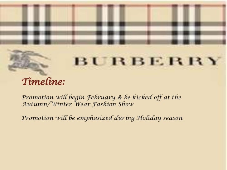 social media for the promotion of burberry products These 10 social media marketing examples burberry made a name for itself on social this is a cool and subtle way of promoting how great their products are.