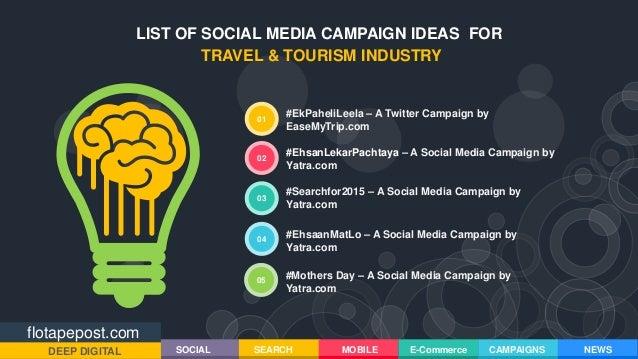 FloTapePost.com - Social Media Campaign Ideas for Travel & Tourism