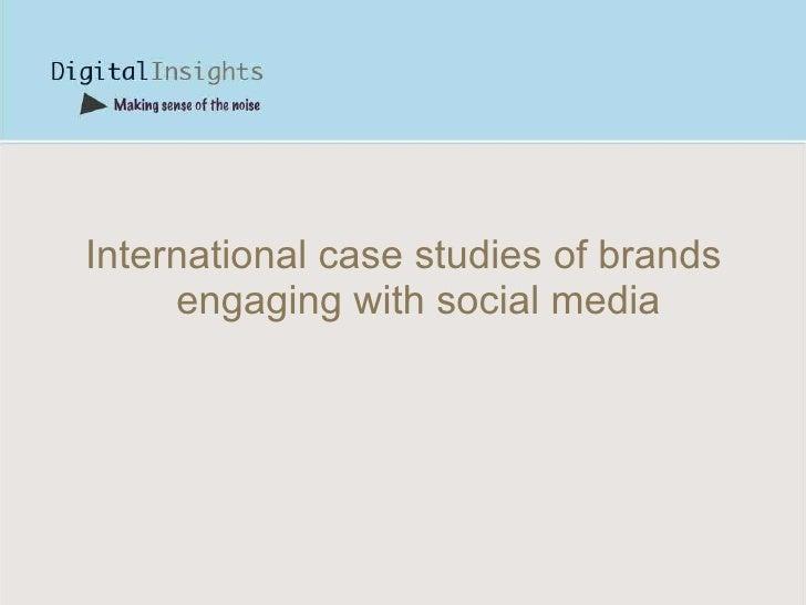 5 outstanding social media marketing case studies