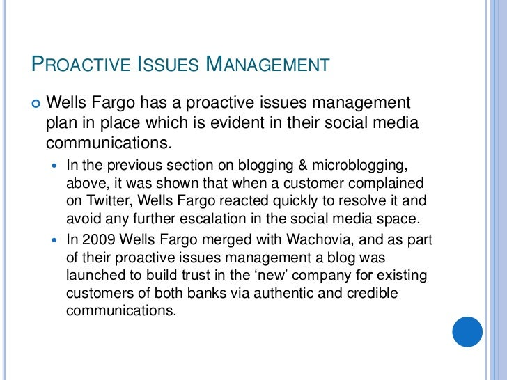 wells fargo case study Information and tips on fraud prevention and identity theft from wells fargo.