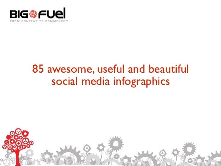 This is where an appropriate headline will go.     85 awesome, useful and beautiful     social media infographics
