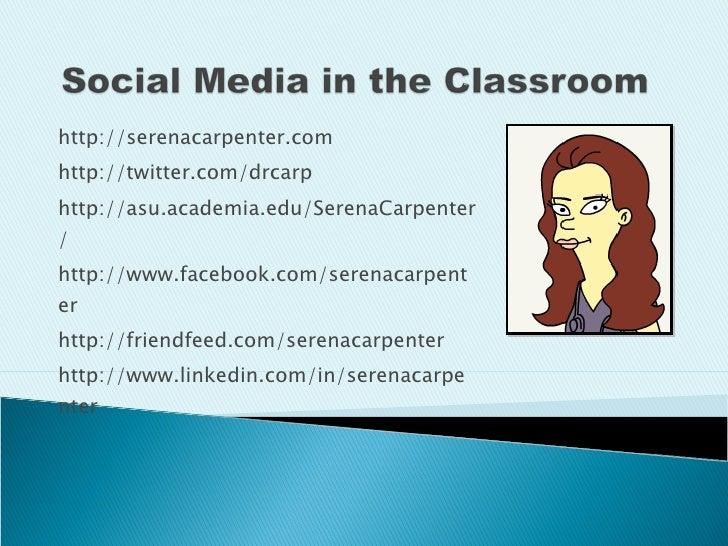 http://serenacarpenter.com http://twitter.com/drcarp http://asu.academia.edu/SerenaCarpenter/ http://www.facebook.com/sere...