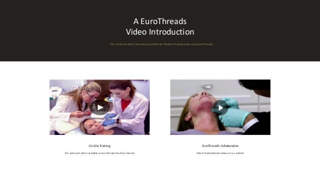 EuroThreads Before & After PDO Thread Lift Presentation