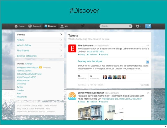#Discover            16                 16