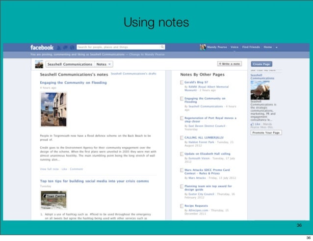 Using notes              36                   36