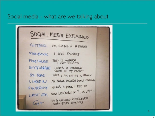 Social media - what are we talking about                                           5                                      ...