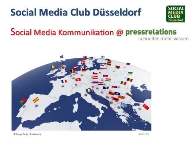 Social Media Club Düsseldorf Social Media Kommunikation @