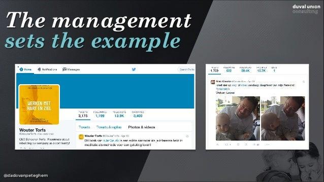 @dadovanpeteghem The management sets the example