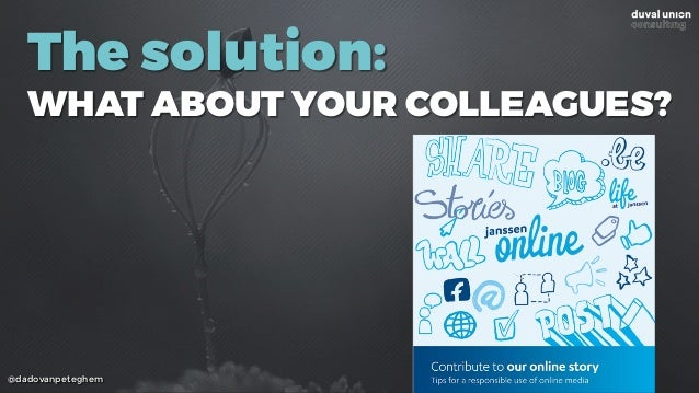 @dadovanpeteghem The solution: WHAT ABOUT YOUR COLLEAGUES?