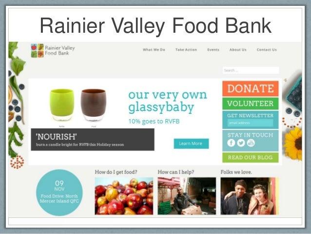 Rainier Valley Food Bank Volunteer